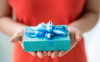 Что подарить крестной на день рождения