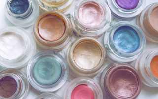 Как наносить кремовые тени