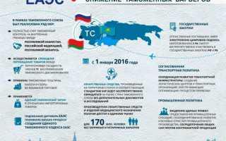 Какие страны входят в таможенный союз