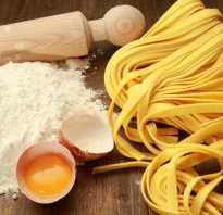 Как готовить яичную лапшу