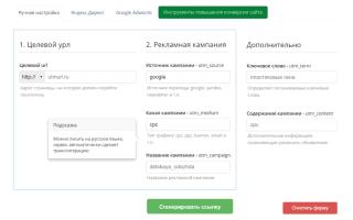 Как создать utm метку для Яндекс Метрики