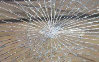 Чем заделать трещины на стекле