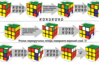 Как ускорить сборку кубика рубика 3х3