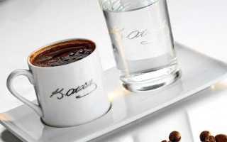 Зачем подают воду к кофе
