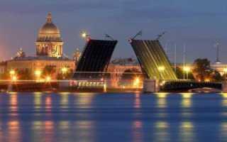 Разводятся ли мосты в Питере зимой