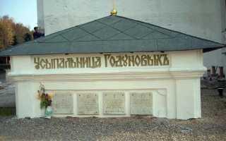 Где похоронен Борис Годунов и его семья