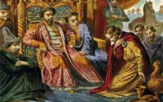 Как было свергнуто ордынское владычество