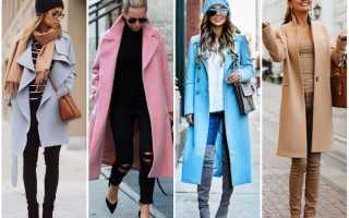 Какие пальто сейчас в моде