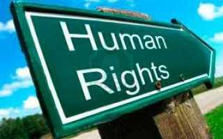 Кто такие правозащитники