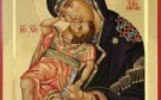 В чём помогает икона взыграние младенца