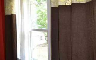 Каким швом сшивают комбинированные шторы