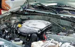 Как отогреть воду в машине в омывателе