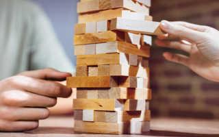 Как строить башню дженга