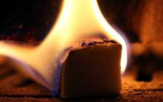 Как горит шоколад