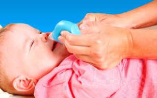 Что делать если заложен нос у грудничка