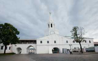 Когда в Казани построили каменный кремль