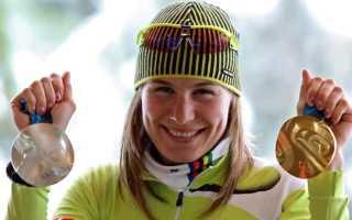 Кузьмина биатлонистка