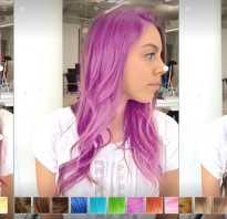 Как примерить цвет волос
