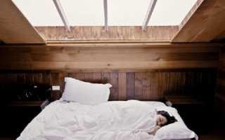 Можно ли спать с открытым окном