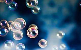 Как сделать жидкость для мыльных пузырей