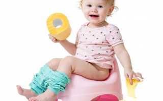Как приучить двухлетнего ребенка к горшку