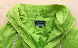 Как пришить петельку на куртку