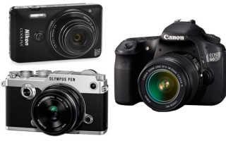 Какую камеру выбрать начинающему фотографу