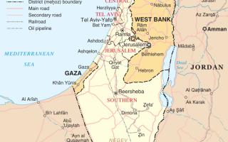 Какая религия в Палестине
